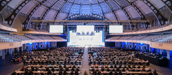 Plenum Festhalle Messe Frankfurt