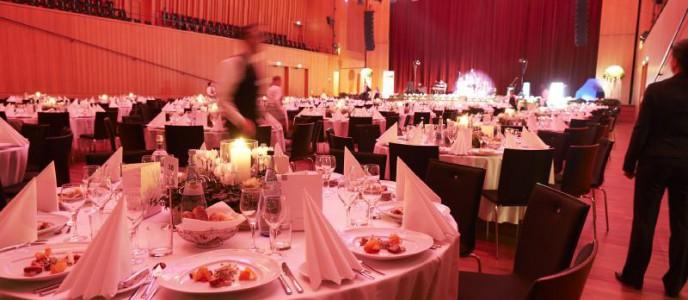 Mit Liebe zum Detail und unter Wertschätzung von Mitarbeitern und Gästen entstehen in der Stadthalle Reutlingen unvergessliche Events.