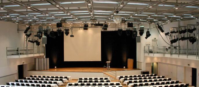 Hegeglsaal bei einer Tagungsveranstaltung