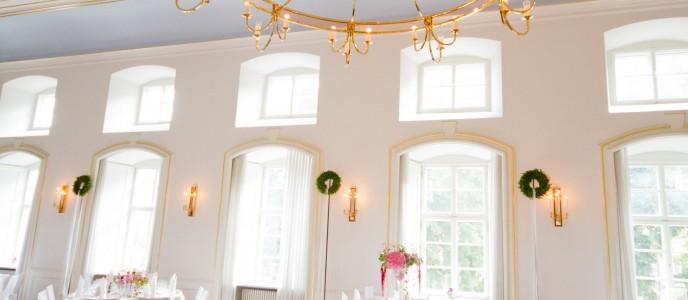 Spiegelsaal im festlichen Stil