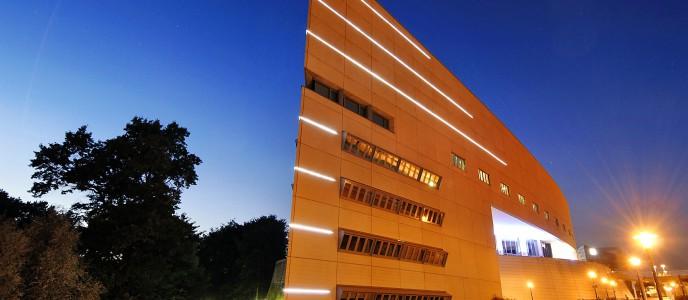 Lichtinstallation Messehaus West