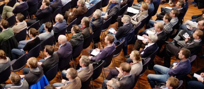 Kongressimpressionen: Delegierte