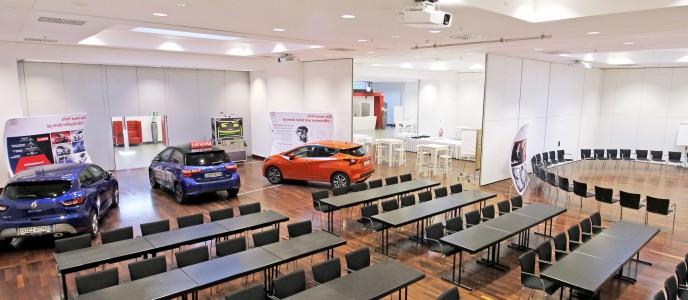 Konferenzzentrum - KFZ-befahrbar