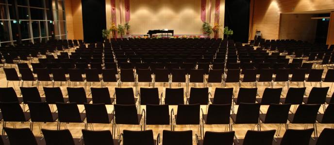 Großer Saal, Konzertbestuhlung
